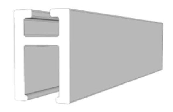 Profilo H 4mm