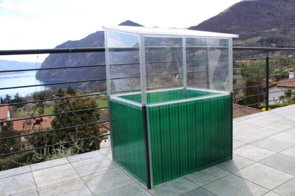 Serra da giardino in policarbonato per piante