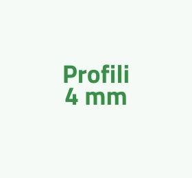 Profili 4mm